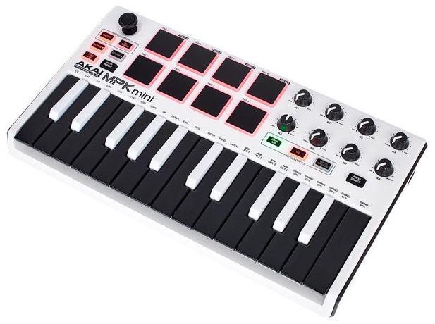 Миди клавиатура Akai mini mpk2