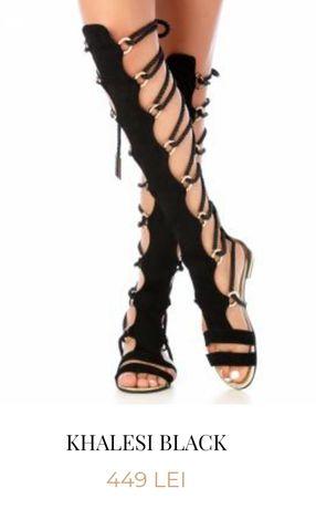 Sandale romane din piele naturală