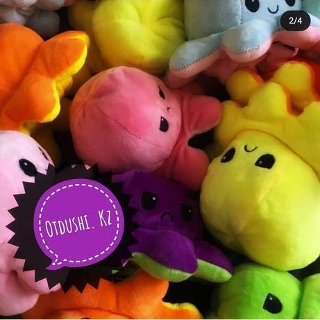 Мягкие игрушки осьминог, авокадо оптом Нур -Султан!