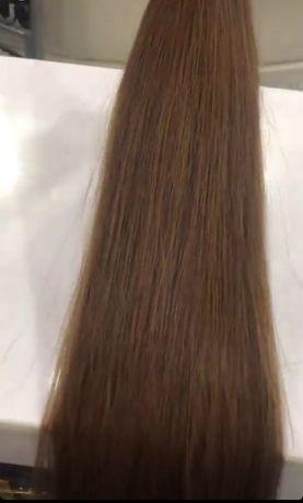Волосы 80 см люкс