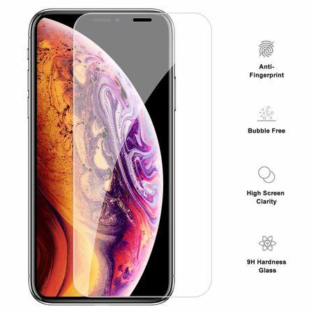 Folie Sticla iPhone XS Max, sticla securizata 9H