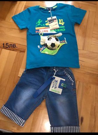 К-т тениска и дънки