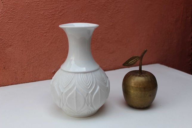 Vaza portelan de colectie ROYAL KPM, Bavaria, Vintage, bisque/glazura