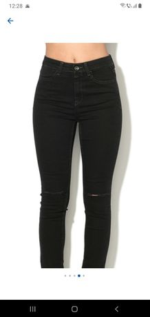 Superskinny jeans Benetton talie inalta XS zara