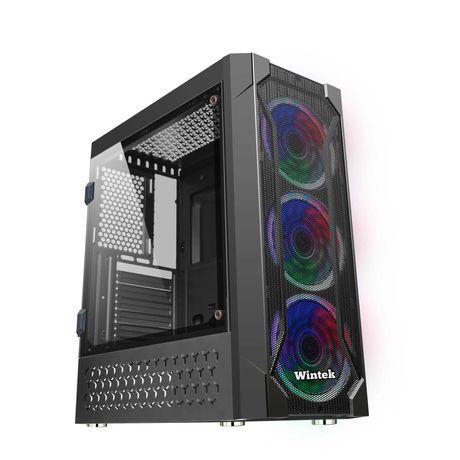 Wintek Rainbow K106 TG, закалённое стекло, MidiTower/ATX/Micro-новые.