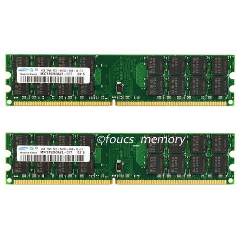 РАМ памет RAM Samsung Kingston 8GB 2x4GB DDR2-800 за AMD процесори