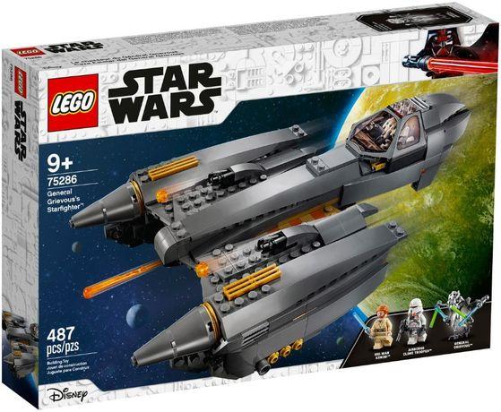 LEGO 75286 Звездный истребитель генерала Гривуса Star Wars новый !