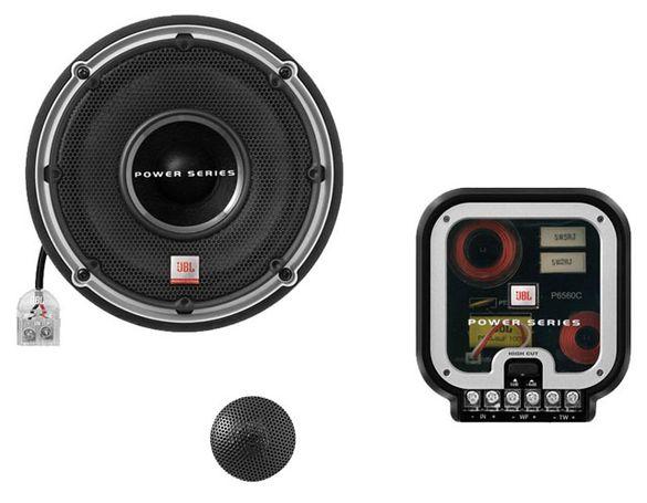 JBL P6560c двулентови високоговорители 16.5см + пищялки + кросоувъри 9
