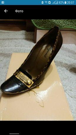 туфли чистая кожа