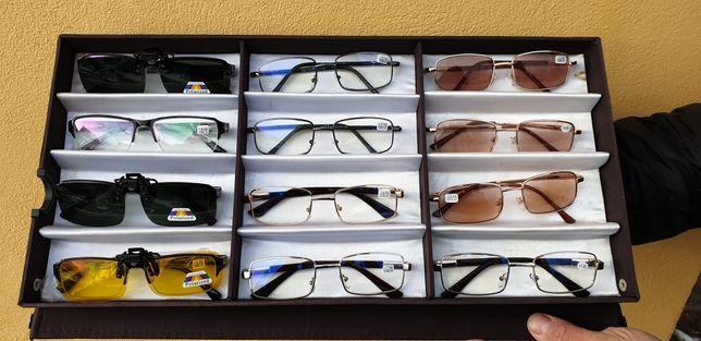 Ochelari de vedere cu lentila antireflex