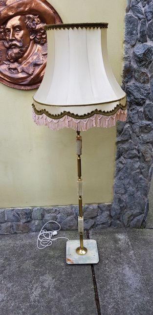 Lampă veioză bronz onix