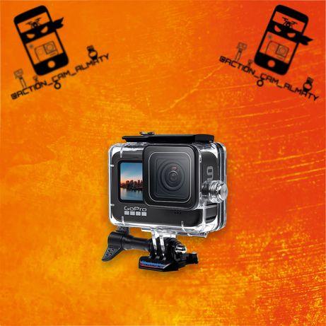 Аква-бокс на GoPro 9, 10 / Водонепроницаемый бокс для экшн камер