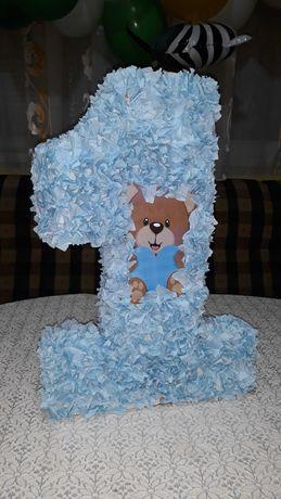 Декоративна единичка за рожден ден