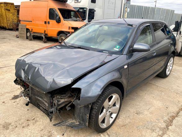Продавам Audi A3 2.0 TDI, 140 кс, DSG, BMM, 2006 г. на части