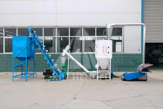 Мини-комбикормовый завод (в наличии/новый) на 1000 кг в час