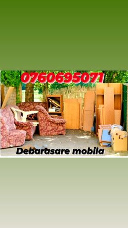 Debarasare  mobila veche transport bagaje marfa materiale Duba