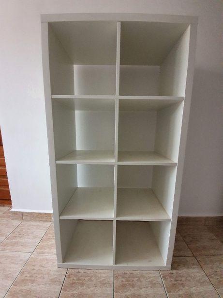 raft alb mobilier 147cm x 76 cm orizontal sau vertical 8 compartimente