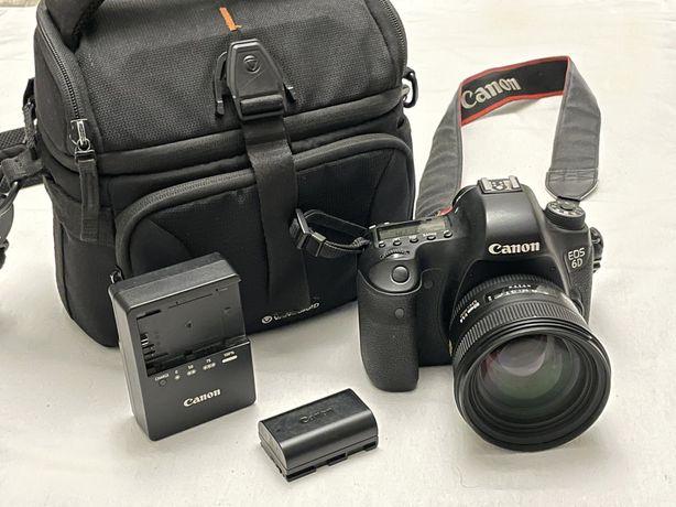 Canon EOS 6D с объективом Sigma 50 mm f/1.4