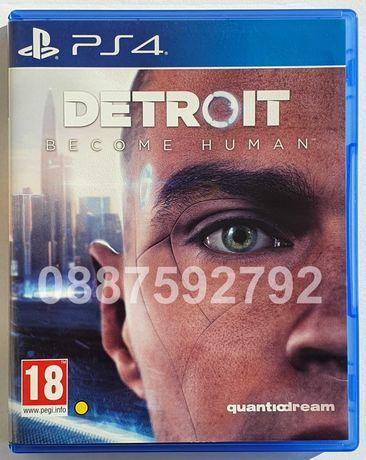Перфектен диск игра Detroit Become Human PS4 Playstation 4 Плейстейшън