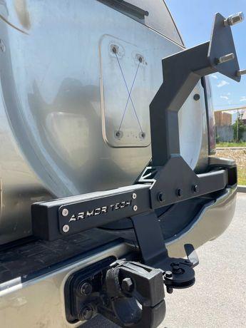 Калитка запасного колеса, изготовление на любой внедорожник