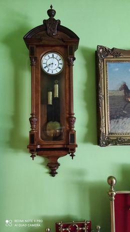 Ceas de perete cu pendul vechi 130 cm