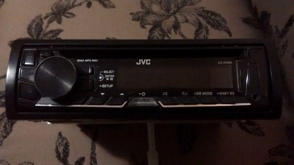 Радио MP3 плейър за кола JVC - USB / CD