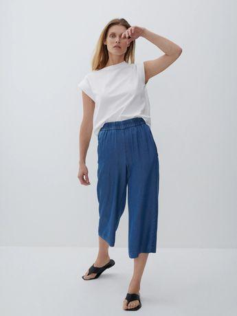 Jeans/ cullote/ fusta pantalon din lyocel 36