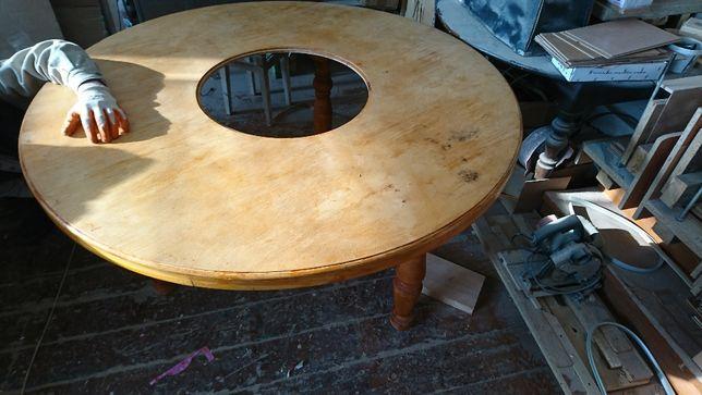 заготовка круглый стол