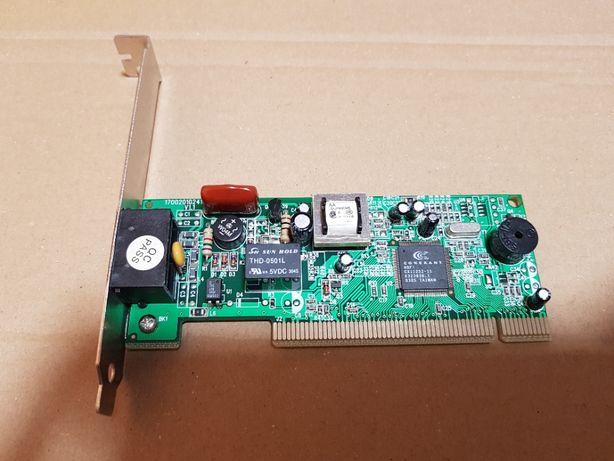 Placa modem fax PCI