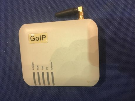 GOIP-1, 1 Channel GSM Gateway Remote SIM Control