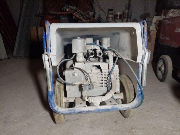 Compresor tencuiala mecanica