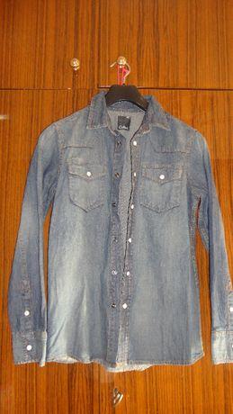 Детска дънкова риза-146см.