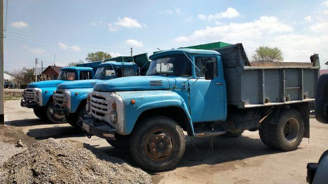 Доставка зил глина песок Сникерс отсев камни пгс щпс уголь вывоз мусор
