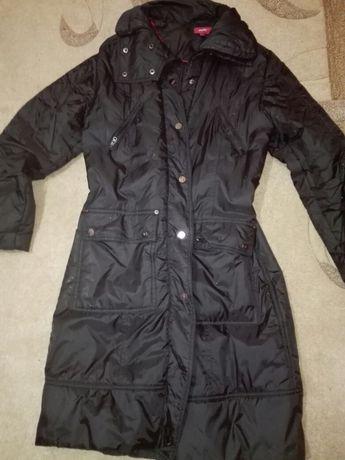 Топло олекотено дълго яке