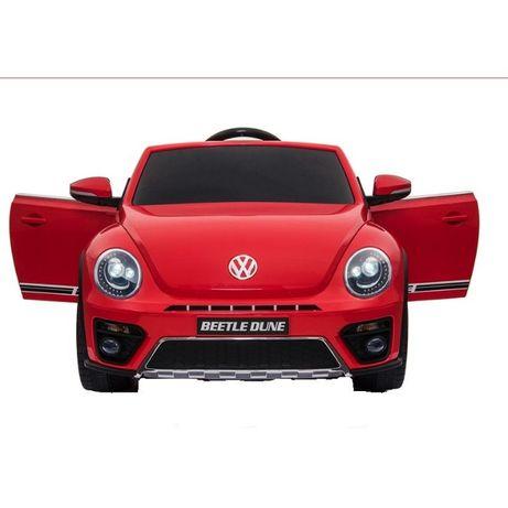 Masinuta electrica VW Beetle Dune Cabrio 90W PREMIUM #Rosu
