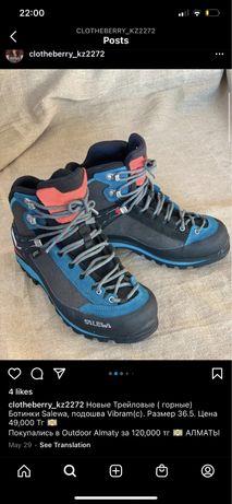 Горные ботинки Salewa