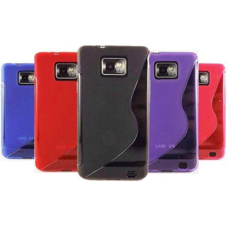Husa Samsung Galaxy S2 i9100 i9101 i9105 S2 plus + folie + stylus