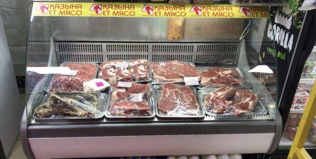 Открылся новый мясной магазин в посёлке Бесагаш Казына ет головной с п