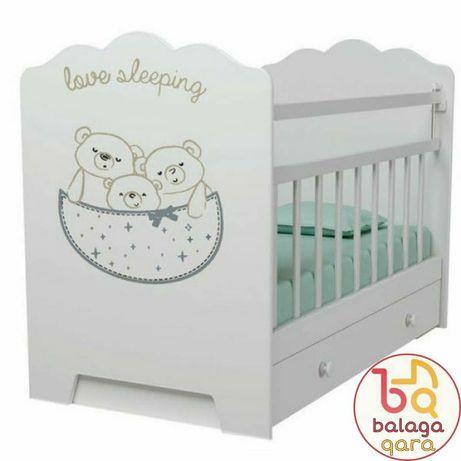 Манеж, детская кровать love sleeping