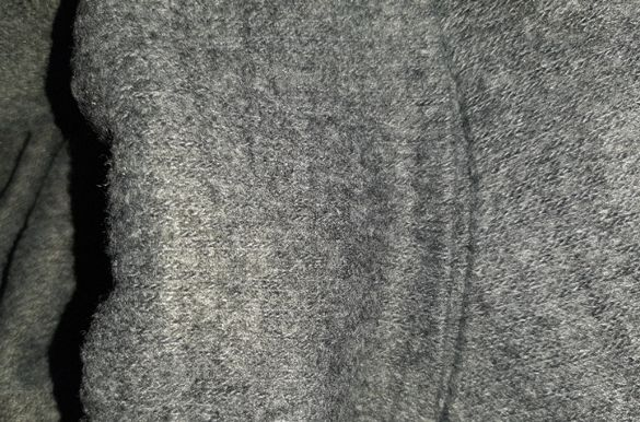 поло без ръкави - тъмно сиво