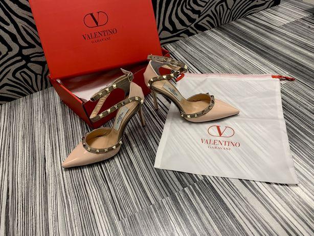 Pantofi Valentino/Poze REALE ! Piele naturală interior exterior!!! Pro
