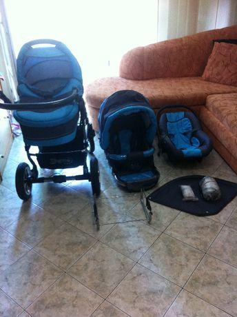 Бебешка и детска комбинирана количка Х6