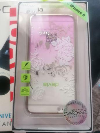 Husa Iphone 6 cu elemente Swarovski