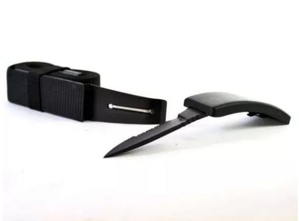 BELT KNIFE DV-01 - Нож, скрит в токата на универсален размер колан