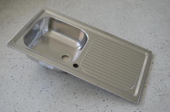 Мивка за вграждане инокс - Smeg