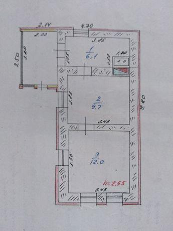 Обменяю  дом на двухкомнатную квартиру