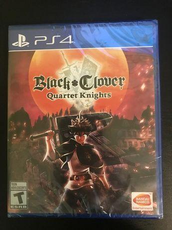 Black Clover Quarter Knights PS4 SIGILAT