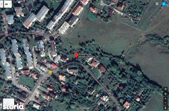 Teren intravilan str Dr. Nicolae Falcoianu, 3124 mp, central,  Campulu