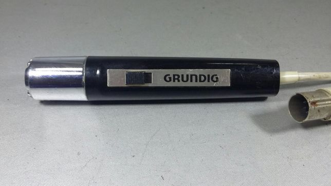 Microfon Grundig pentru stație made in Germany Original Netestat