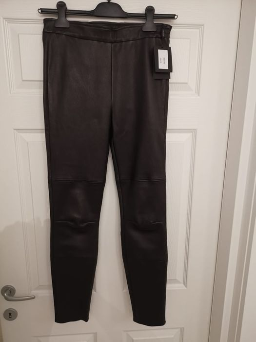 Pantaloni piele naturala Bucuresti - imagine 1